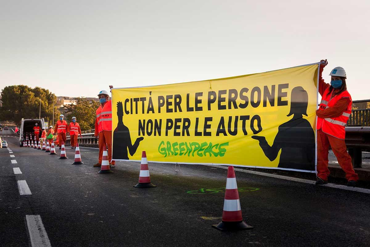 Greenpeace mobilità sostenibile